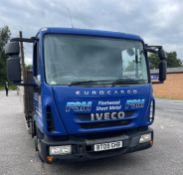 Iveco 75E16 Eurocargo Flat Bed Lorry   BT09 GHB   602,546 KM