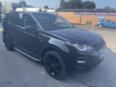 Land Rover Discovery Sport HSE T Diesel Estate   NL16 FGG   93,358 Miles