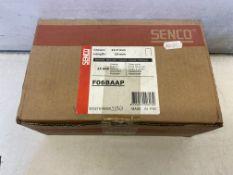 24,000 x Senco 10mm Galvanised Staples, Crown 12.7mm