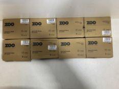 8 x Various Zoo Hardware Oval & Euro Deadlocks