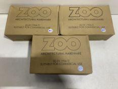 3 x Various Zoo Hardware Door Handle Sets