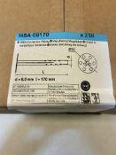 250 x Rawplug MBA-08170 Steel Facade Fixings, 8x170mm