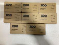 "8 x Zoo Hardware ZUKS76EPSS Euro Profile Sash Lock 3"""