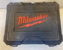Milwaukee M18BIW12-0 M18 Compact 1/2in Impact Wrench CARRY CASE! ( Wrench Not Included )