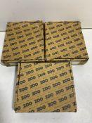 3 x Boxes Of Various Zoo Hardware Door Stops