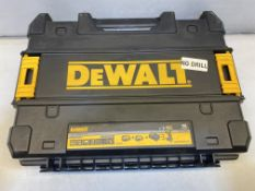 DeWalt DCD796PM XR Brushless Hammer Drill T-STAK Carry Case, Case Only! Drill Not Included