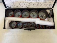 Morse 19 Piece Bi-Metal & Wood 19-83mm Holesaw Drill & Arbours Set & Case