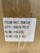 2000 x Mr Fixings NK42 Drive Pins
