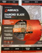 5 x Abracs ABDD230M Trade GCM 230mm x 10mm x 22mm GP Diamond Blade