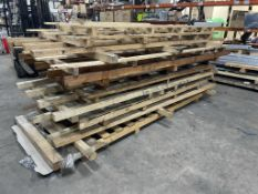 11 x Wooden 'Machinery' Pallets as per photos