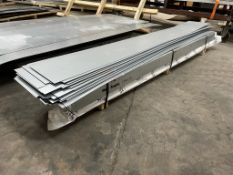 Approximately 180 x 1mm Sheets of Selco Aluminium | Size: 255 x 30cm