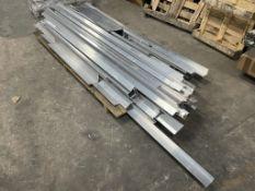 Large Quantity of Angle Aluminium Metal Stock as per Photos