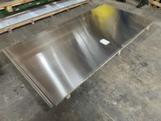 4 x 2mm Sheets of Aluminium | Size: 250cm x 125cm