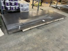 6mm Sheet of Mild Steel Metal Stock | Size: 400cm x 175cm