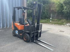 Doosan D18S-2 1.75 Tonne Diesel Forklift Truck w/ Sideshift | 8,123 Hours