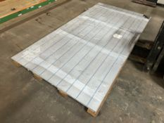 12 x 1mm Sheets of Stainless Steel Metal Stock | Size: 250cm x 125cm