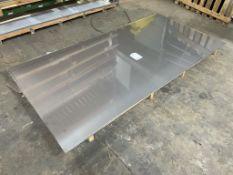 5 x 3mm Sheets of Aluminium | Size: 250cm x 125cm
