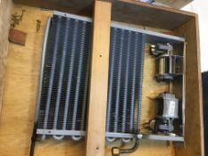 Scrap Refrigeration Parts Including Radiator Matrix Assembly