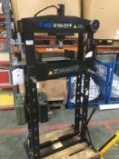 SGS 20 Tonne Hand-Pump HHP20 Hydraulic Press W/ Mandrills