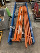 Heavy Duty Pallet Racking | 3 Uprights & 8 Beams