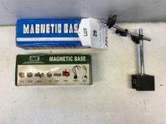 3 x MB-UA Magnetic Base Mounts