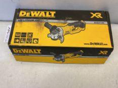 DeWalt DCG412 Cordless Angle Grinder | 18v
