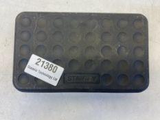 7 Piece Stanley 1/2'' Ratchet Square-Hex Adaptor Set | 6mm - 19mm