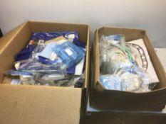 Large Quantity of Mixed Gaskets + Misc. Small Spare Parts
