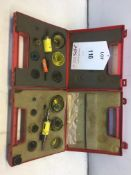 2 x Various Hole Saw Kits As Pictured