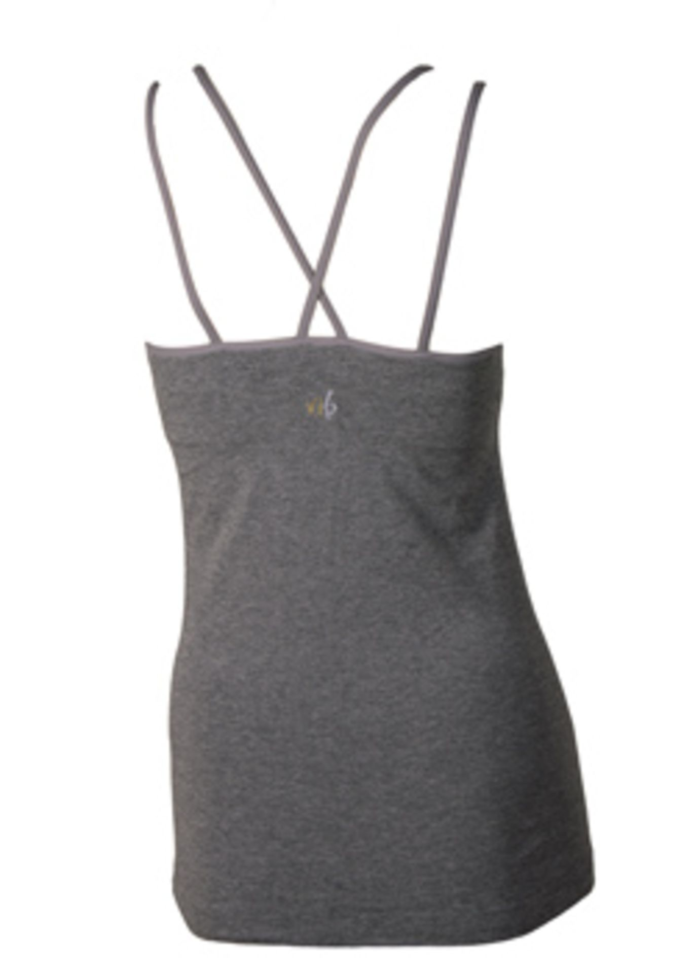 3 x Bamboo Yoga Flow Tops w/ Padded Bra   XS - Image 2 of 3