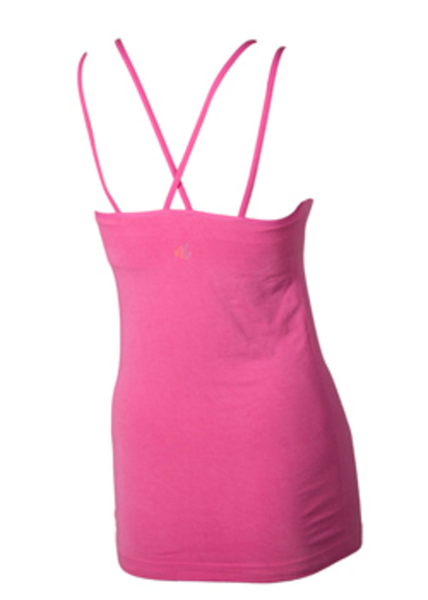 3 x Bamboo Yoga Flow Tops w/ Padded Bra   XS - Image 4 of 4