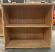 Oak Effect 1 Shelf Unit