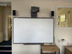 "Smart TM 87"" interactive whiteboard"