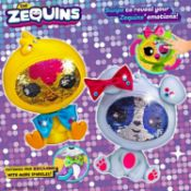 672 x The Zequins Emotions That Sparkle Kids Toys | Assorted Designs | RRP £6,715