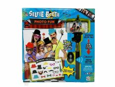 162 x Selfie Stick Photo Booth Fun Kits | Total RRP £1,620