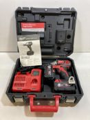 Milwaukee M18 BIW12 Cordless 18v Impact Driver W/ Case, Batteries & Charger | RRP: £189.59