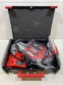 Milwaukee M18 GG Cordless 18v Grease Gun in Carry Case, Batteries & Charger | RRP £276