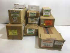 10 x Perry Hardware Packs | Hinges | Safety Hasps | Monkey Tail Bolts