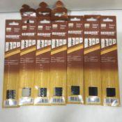 7 x Reisser HCS Jigsaw Blades | Packs of 5