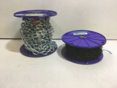 2 x Perry Link Chain Reels
