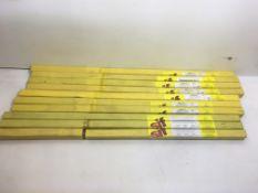 10 x Packs of Welding Rods As Per Description