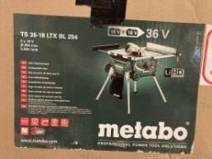 METABO CORDLESS TABLE SAW | TS 36-18 LTX BL 254