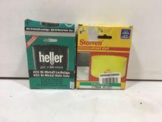 2 x Bi-Metal Hole saws | Heller | Starrett