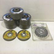 8 x Angle Grinder Disc Packs As Per Description