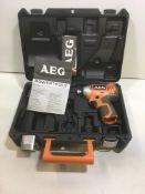 AEG BSS12C Impact Driver in Case