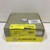 Klingspor 150mm Circular Velcro Sanding Sheets | PS22K | 80 Grit