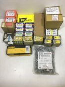Quantity of Various Fixings | Screws | Bolts | Screw Cups