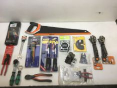 Large Selection of Various Hand tools As Pictured | Wera | Sealey | DeWALT | Bahco