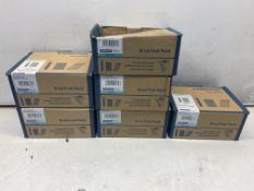 6 x Various Raw Plug Brad Fuel Packs