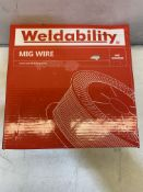 WELDABILITY SIF VZ181015LW A18/G3SI1 MIG WIRE | 1.0MM | Total RRP £80